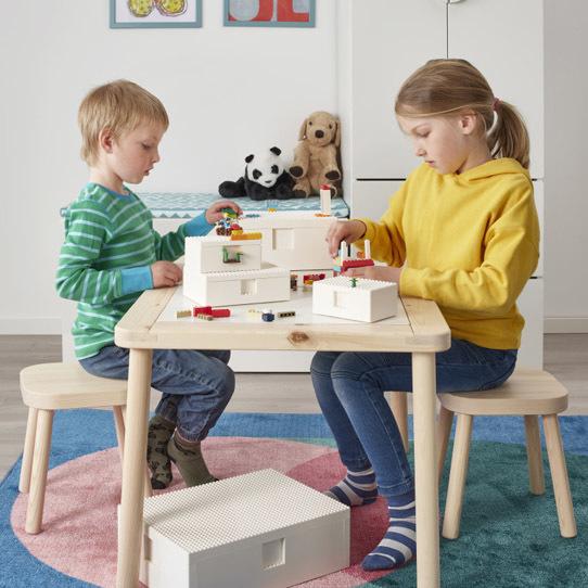 Zabawa z BYGGLEK IKEA