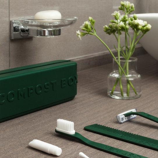 Zestaw The Green Box w łazience