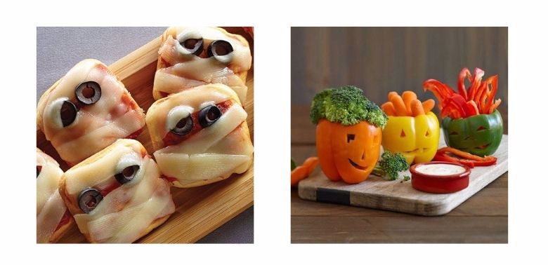 Halloween, przekąski dla dzieci