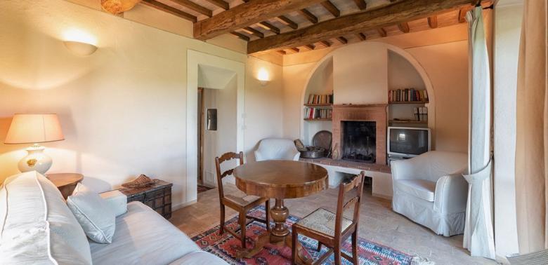 Toskania - mały domek