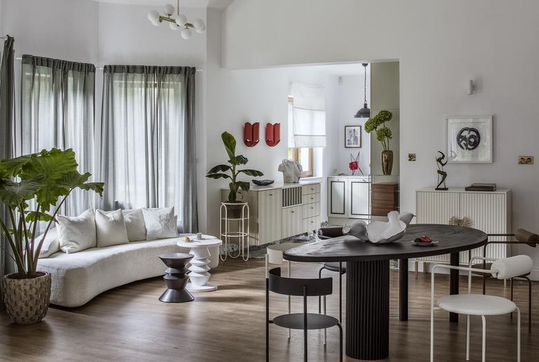 Wnętrze w stylu modern classic