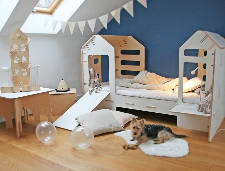 Pokój dziecięcy łóżko domek
