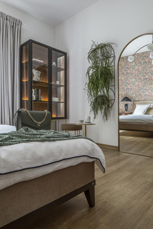 sypialnia w stylu klasycznym