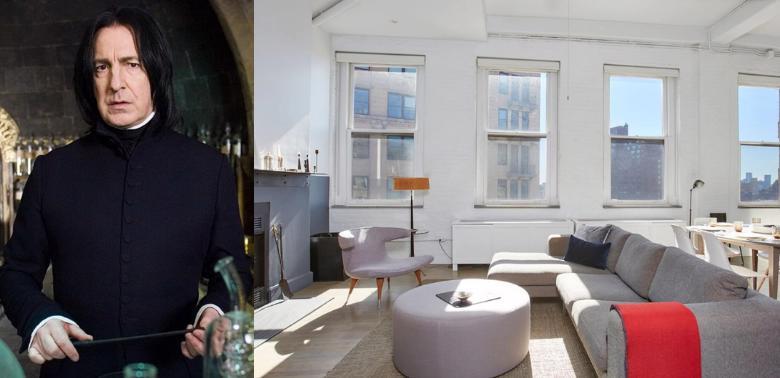 Można kupić mieszkanie Alana Rickmana