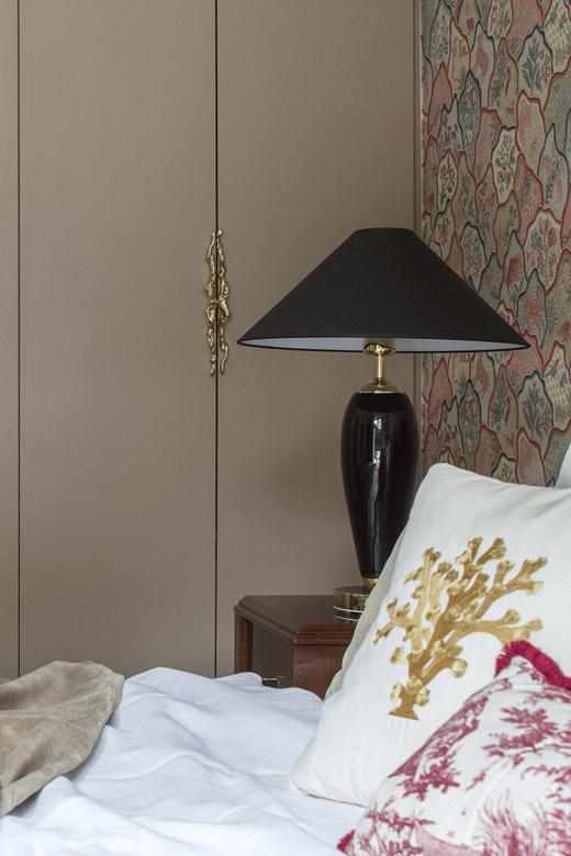 sypialnia modern glamour