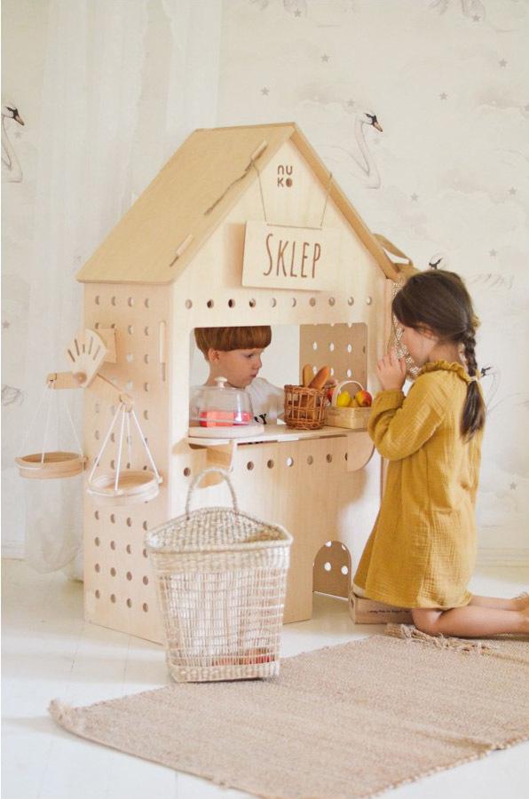 Domek sklep dla dzieci