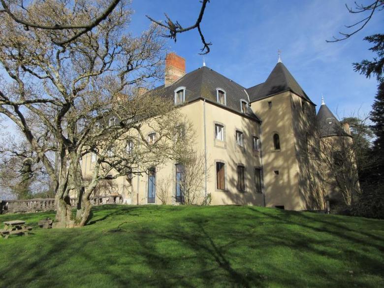 Zamek we Francji