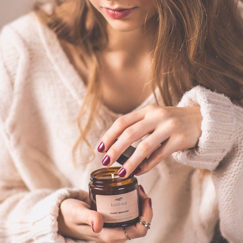 świeca do aromaterapii