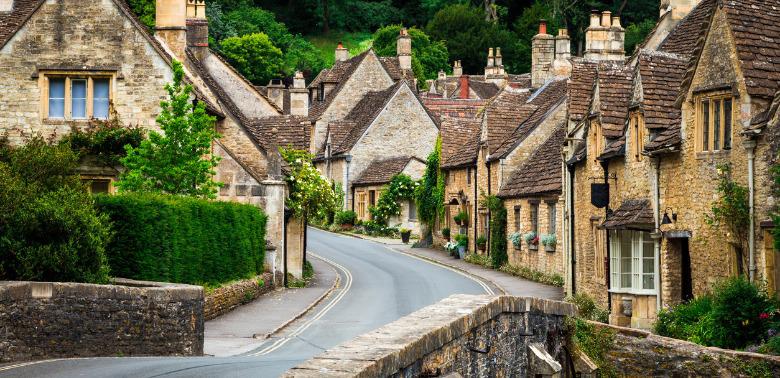 Brytyjskie miasteczko