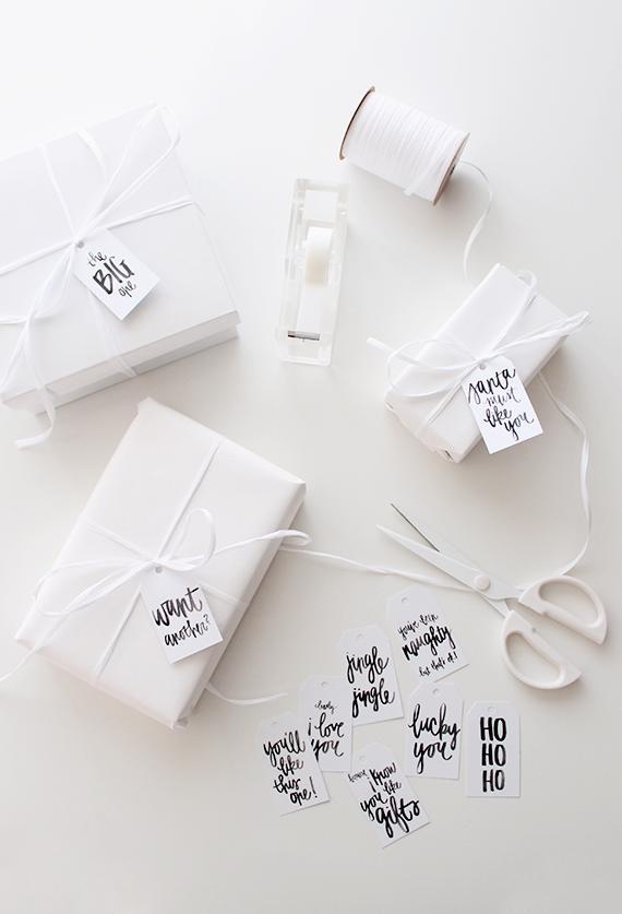 Jak spakować prezent na święta
