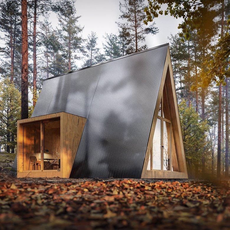 Domek Brda nowy projekt