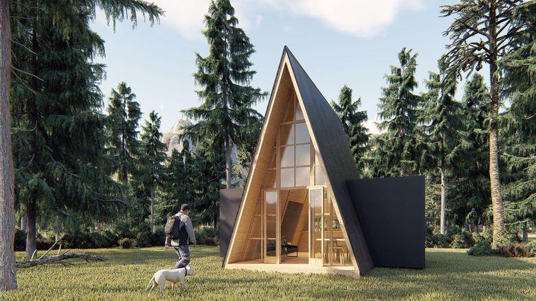 Domek Brda rozbudowa
