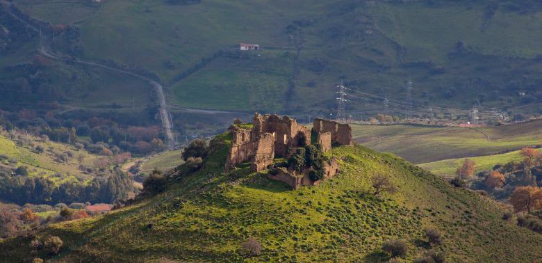 Miasteczko Troina na Sycylii