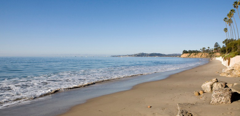 Plaża w Montecito