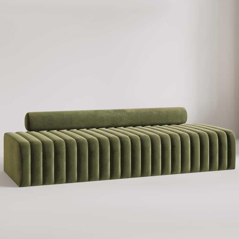 Sofa Icone zielona prosta