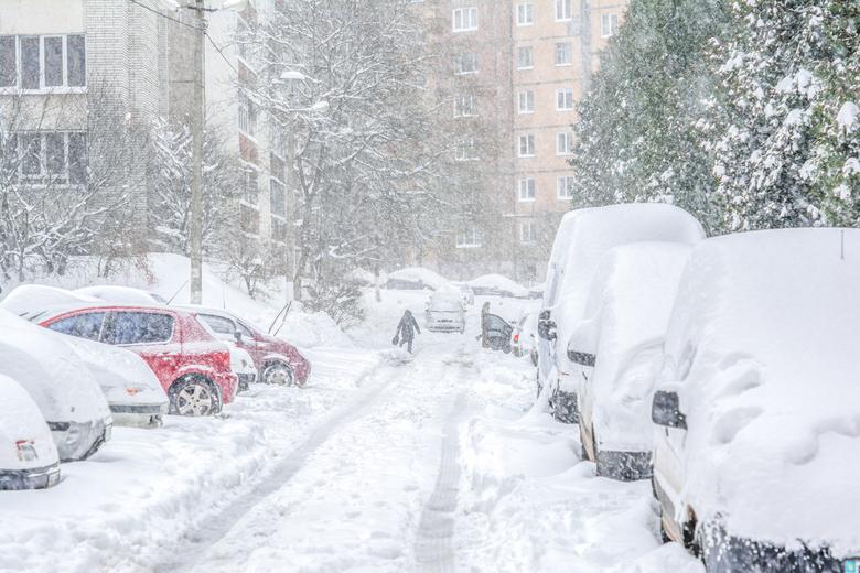 Polska śnieg zima