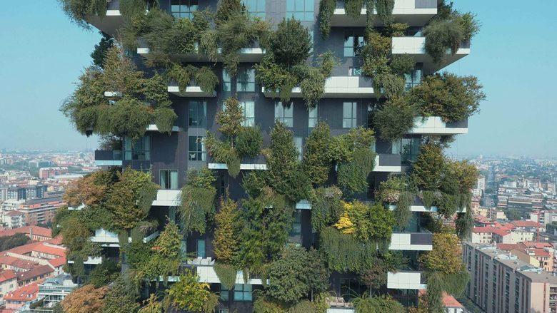 Bosco Verticale pionowy las