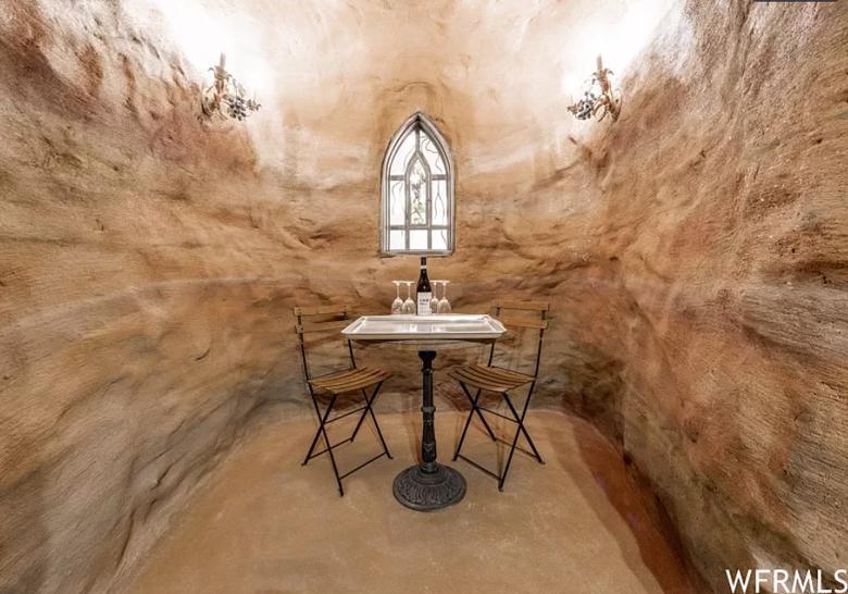 Wnętrza domu wampira