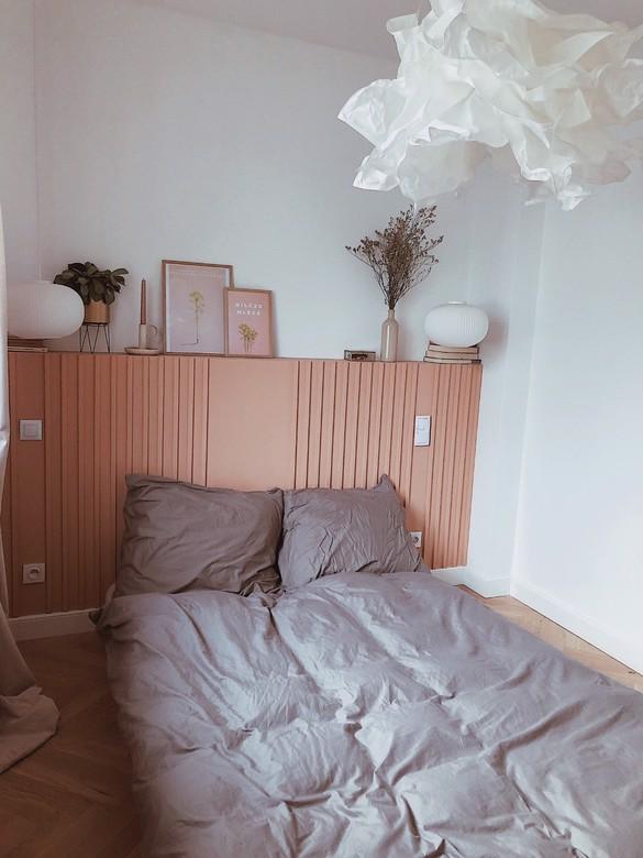 sypialnia i szafka za łóżkiem