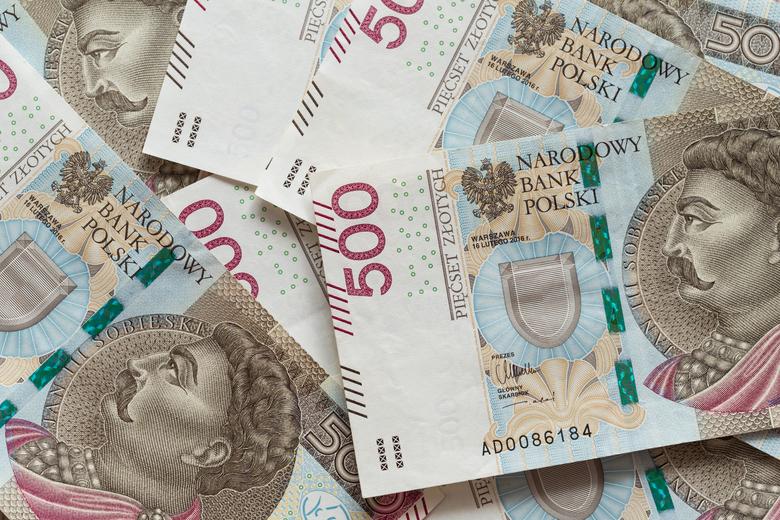 banknoty 500 pln