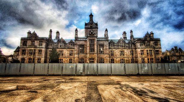 stary szpital przed modernizacją