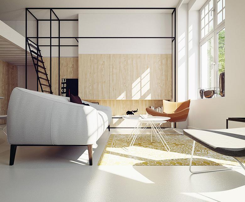 Soft loft. Wizualizacja
