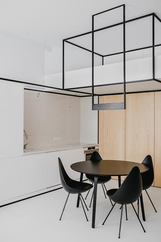 Mieszkanie w stylu loftowym z antresolą