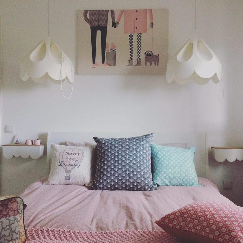 Lampy w sypialni Beza Loftlight
