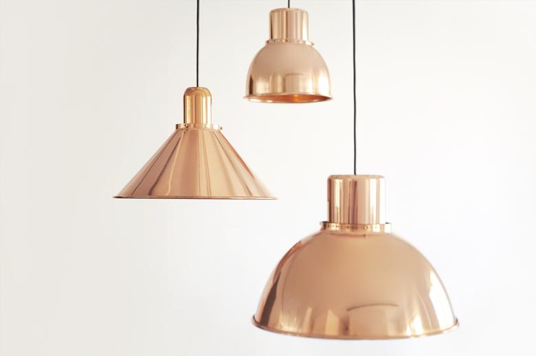 lampy miedziane TAR