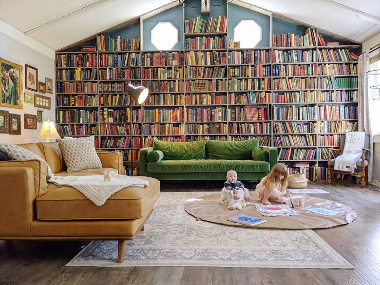 Domek - biblioteczka