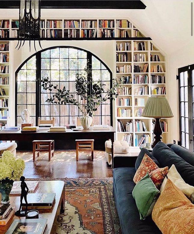 biblioteka z widokiem