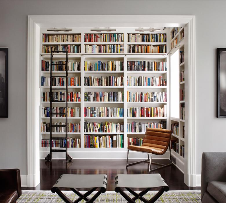 Biblioteczka wnękowa