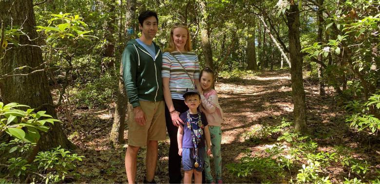 Lidia z rodziną