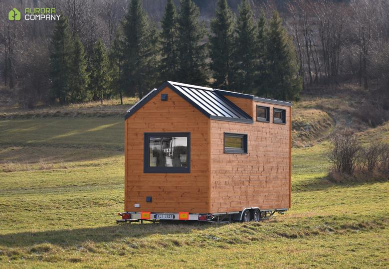 Domek Tiny House drewniany Aurora Company