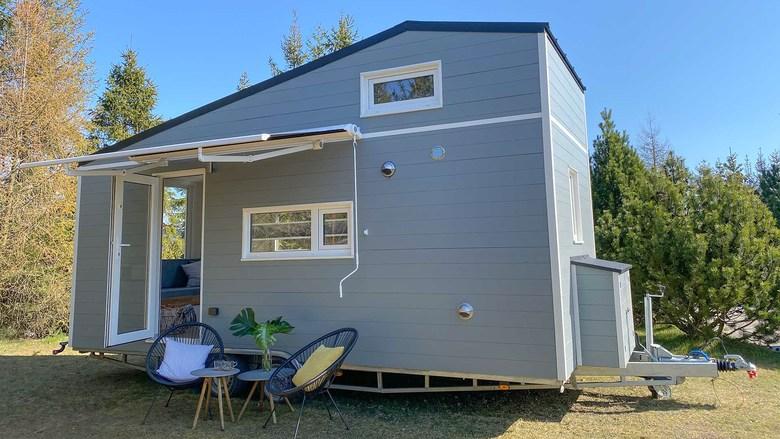 Domek Mobi House MOBI 06 z zewnątrz