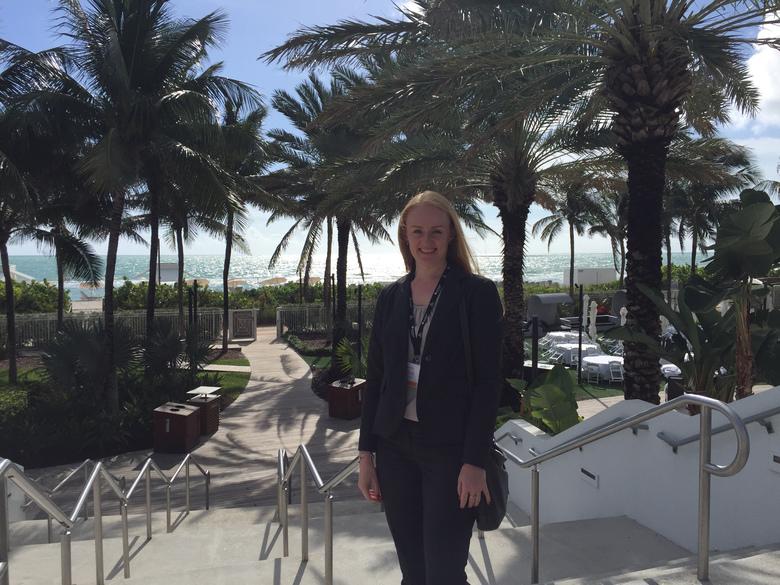 Lidia w Miami Beach