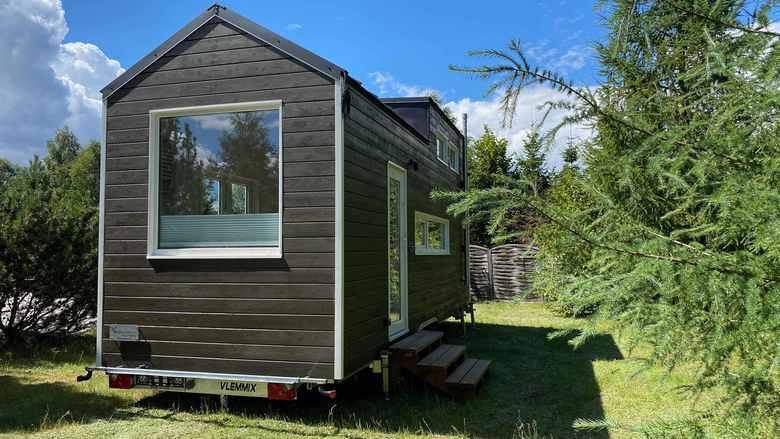 Domek Mobi House MOBI 02 z zewnątrz
