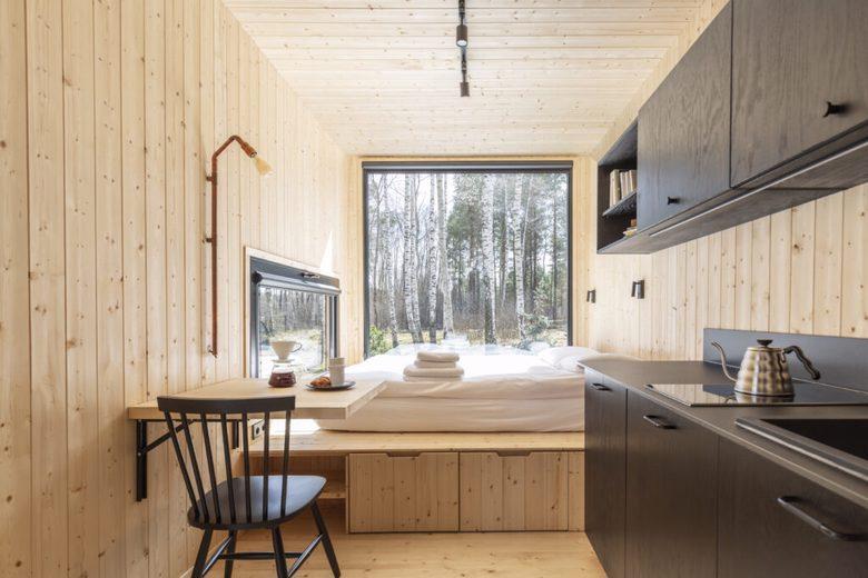 Domek Tiny Smart House x Hidden Base