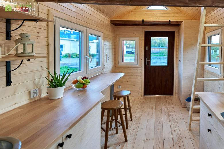 Domek Aurora Company VERONA, wnętrze
