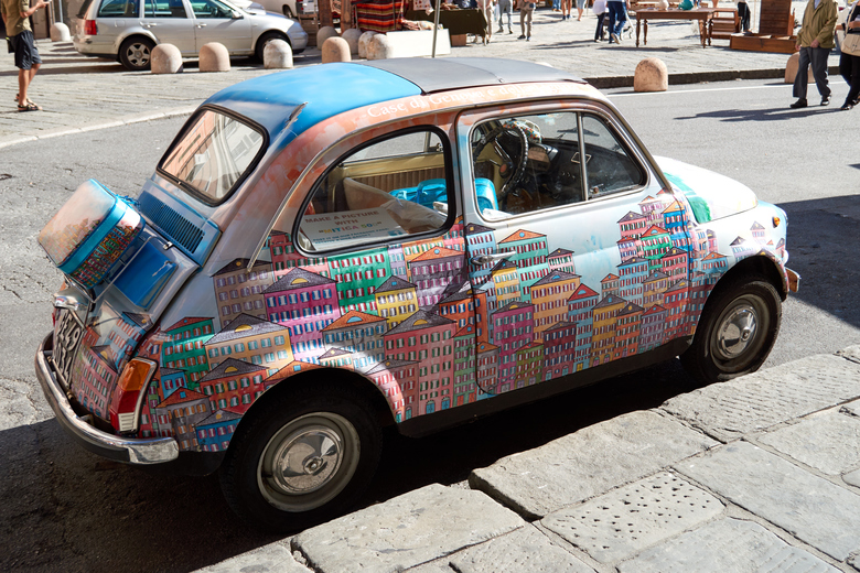 Kolorowy Fiat