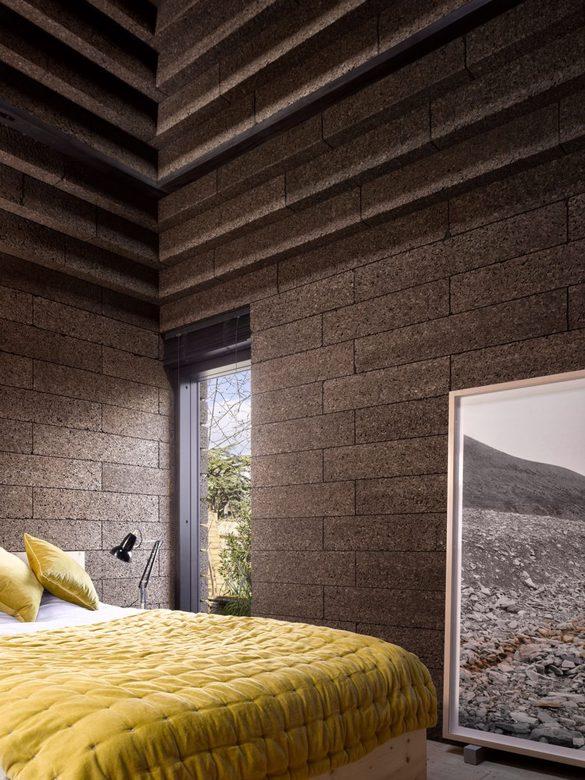 Cork House - sypialnia