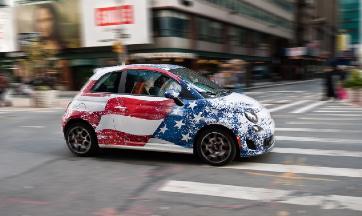 Fiat w Nowym Jorku