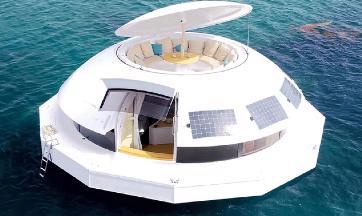Anthenea - luksusowy pływający apartament