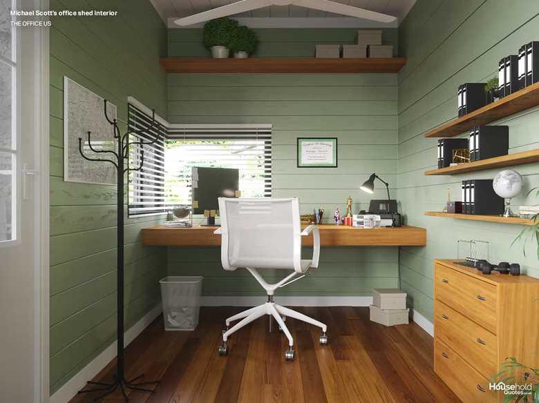 Wnętrze biura Michaela Scotta
