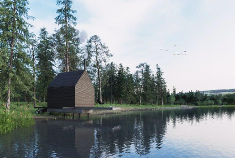 Dark house Marek+Sikora Architektura