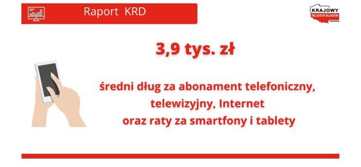 Rośnie zadłużenie względem telekomów