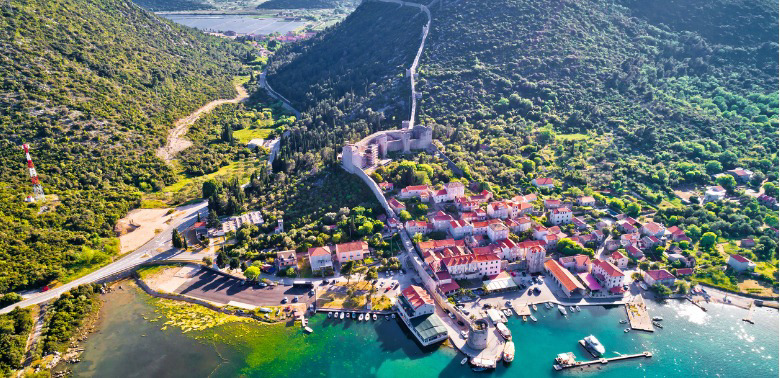 Chorwacja - zdjęcie z lotu ptaka