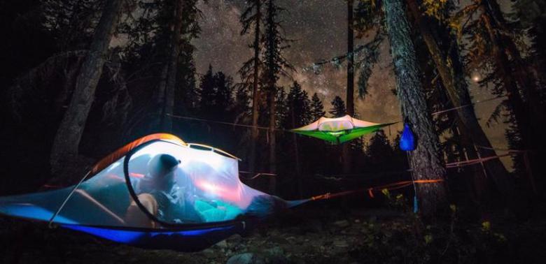 Biwakowanie - nietypowe namioty
