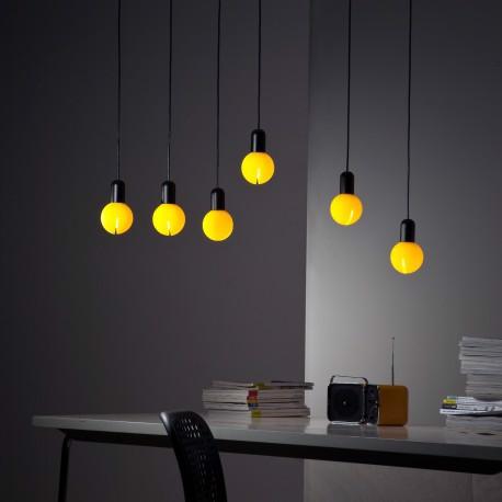 lampy O! z żółtymi kloszami