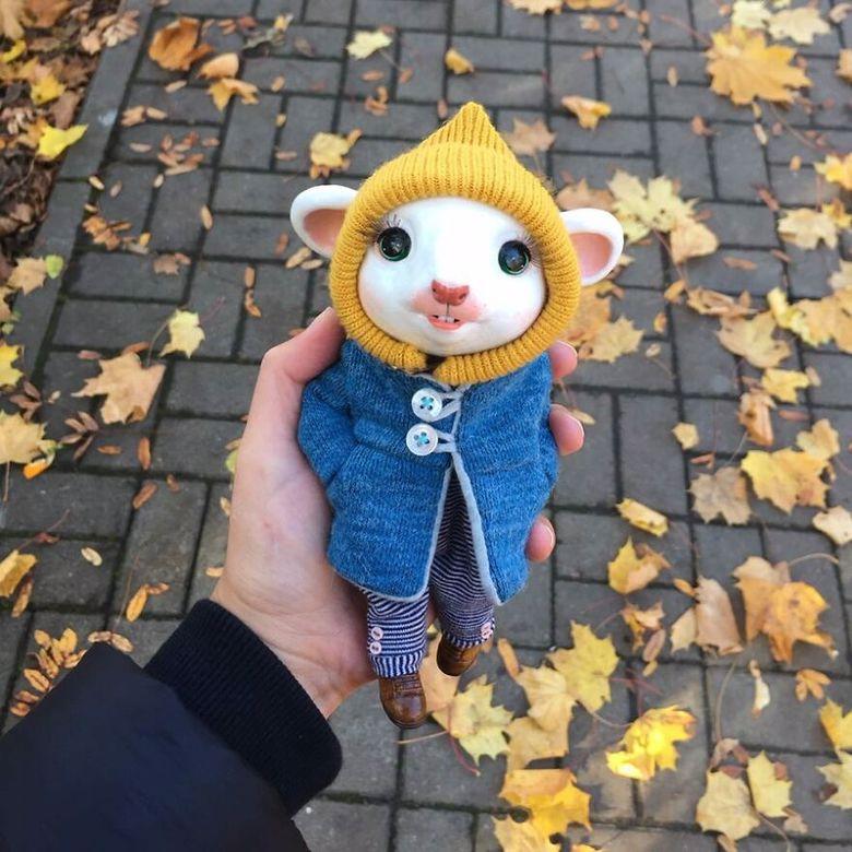 nietypowa lalka